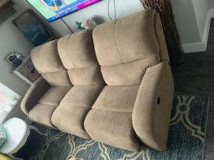 Electric reclining couch for Sale in Monroe, WA