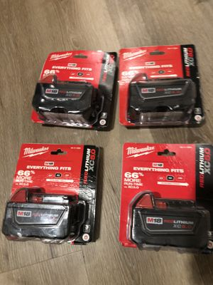 Milwaukee m18 xc5.0 for Sale in Colma, CA