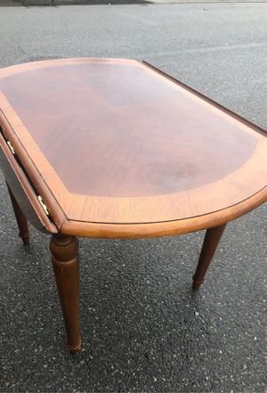 Brown table for Sale in Everett, WA