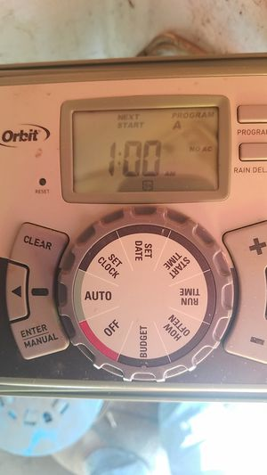 Orbit Sprinkler Controller for Sale in Chino, CA