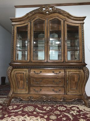 China cabinet excellent condition like new for Sale in Plano, TX