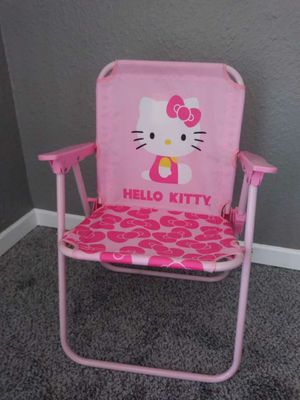 Brand new mini Hello Kitty folding chairs. for Sale in Hesperia, CA
