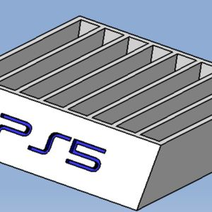 PlayStation 5 Game Holder Custom for Sale in Hemet, CA