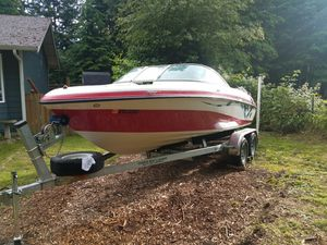 2006 20' reinell with galvanized trailer for Sale in Gold Bar, WA