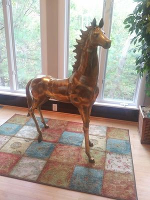 Brass Horse Statue for Sale in Raleigh, NC