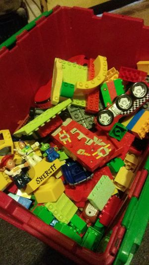 Large Lego's including some from toy story and cars for Sale in Dallas, TX