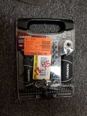 Husky 46-Piece Stubby Wrench and Socket Set for Sale in Atlanta, GA