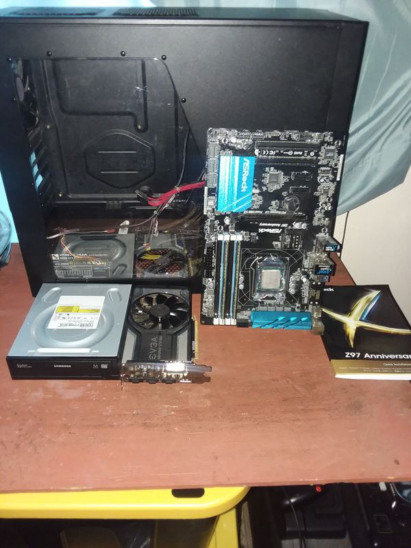 Asrock motherboard/accessories