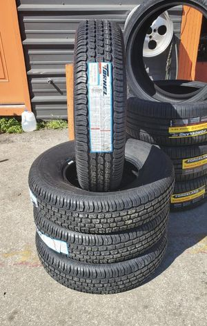 235/75/15 new tires for $340 with balance and installation we also finance {contact info removed} ask for Dorian 7637 airline dr houston TX 77037 for Sale in Houston, TX