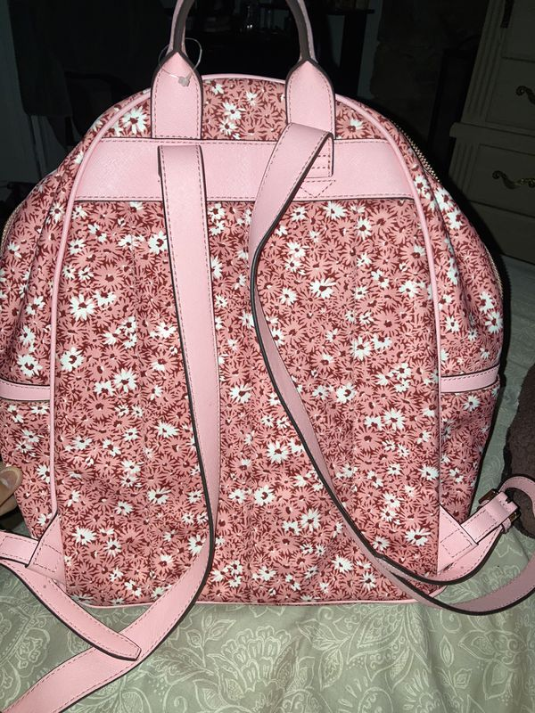 Michael Kors backpack (pink with flowers)