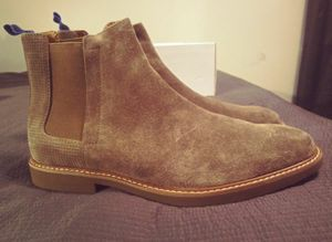 Men's size 11.5 Brand New Tan Steve Madden Chelsea Boots for Sale in Raleigh, NC