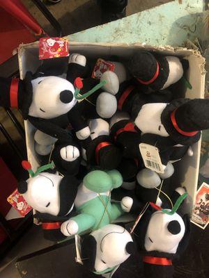 Snoopy stuff animals for Sale in Lodi, CA