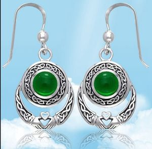 925 Sterling Silver Celtic Trinty Love Knot Earrings for Sale in Clermont, FL