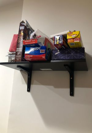 Wall shelves (6 with holders) for Sale in New York, NY