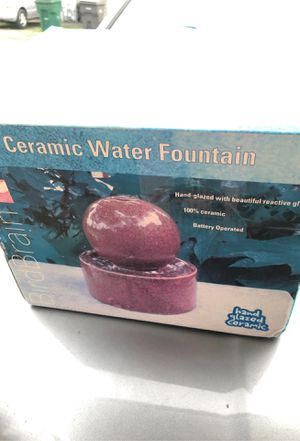 Ceramic fountain brand new for garden and house decoration for Sale in Burlington, WA