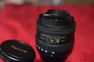 Tokina 10-17mm Nikon for Sale in Spring Valley, CA