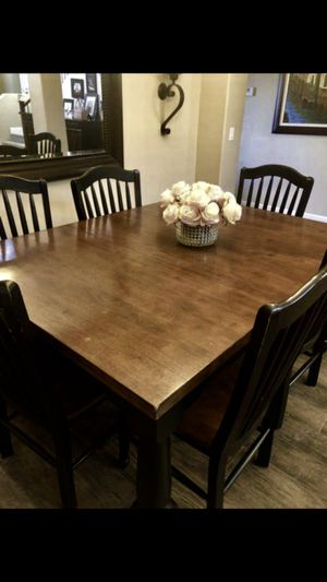 Solid wood Dining Table and Chairs for Sale in Chandler, AZ