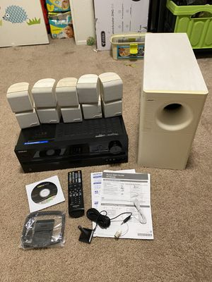 Onkyo 7.1 Receiver + Bose Acoustimass 10 Home Theater System COMPLETE SET for Sale in Carlsbad, CA