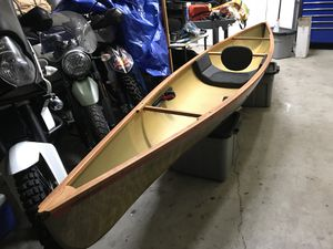 10' Hornbeck Canoe- Practically brand new for Sale in Poway, CA