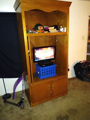 Wooden TV stand for Sale in Richmond, VA