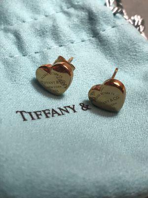 Tiffany & Co. 14k gold earrings for Sale in McLean, VA