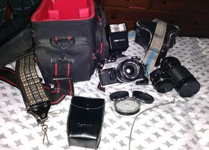 Canon AE-1 35mm with Accessories for Sale in Mentor, OH