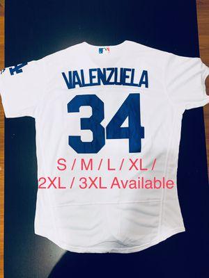Fernando Valenzuela Los Angeles Dodgers Baseball Stitched Jersey 34 for Sale in Fontana, CA