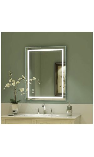 LED Bathroom Mirror, 36 x 28 inch, Anti Fog, Dimmable, Touch Button, Superslim,90+ CRI, Waterproof IP44,Both Vertical and Horizontal Wall Mounted Way for Sale in Diamond Bar, CA