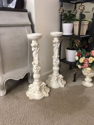 Candle or plant holders (2) for Sale in Purcellville, VA