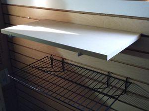 Slat wall shelving for Sale in Glendale, AZ