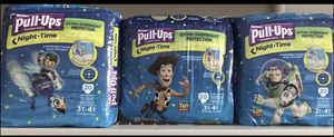 Huggies Night Time Pull Ups 3t-4t Boy(3bags) for Sale in Cleveland, OH