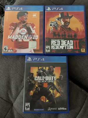 Ps4 games for Sale in Macomb, MI