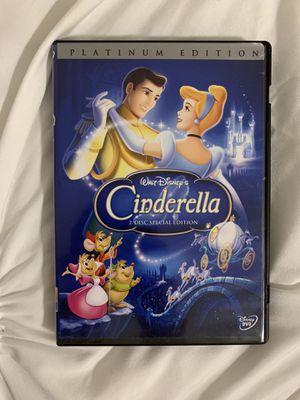 Disney's Cinderella platinum edition on DVD for Sale in Norwalk, CA