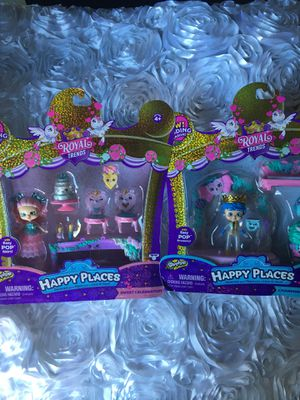 Brand new in box Shopkins Happy Places Royal trends for Sale in Perris, CA