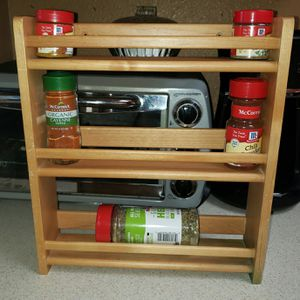 Bamboo spice rack for Sale in Vancouver, WA