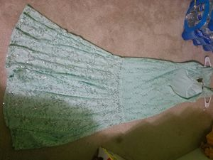 Mermaid prom dress size 3/4 for Sale in Manassas, VA