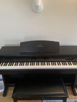 Yamaha Clavinova Digital Piano With Stool for Sale in Brooklyn,  NY