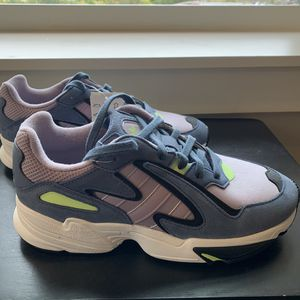 Adidas Yung-96 Chasm Purple Blue Green Shoes Men's Size 8 for Sale in Ithaca, NY