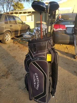Golf set with bag for Sale in Canyon Lake, CA