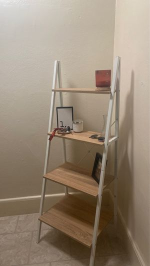 basically new: ladder shelf for Sale in Hermon, ME