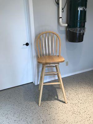 Oak wooden stool for Sale in Leavenworth, WA