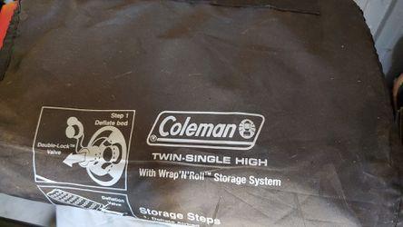 2019 coleman twin air mattress for Sale in Fontana,  CA