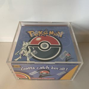 Base Set 2 Sealed Booster Box Booster Packs Pokémon Pokemon Base Set Shadowless Unlimited 1st Edition Charizard Blastoise Venusaur for Sale in Los Angeles, CA