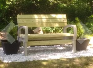 New!! Customizable outdoor bench, any size bench, garden bench for Sale in Tempe, AZ
