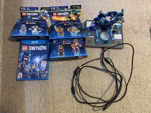LEGO Dimensions Game with Extras Wii U for Sale in Riverside, CA