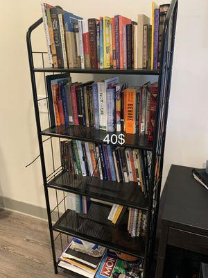Metal book shelf for Sale in Harrison, NJ