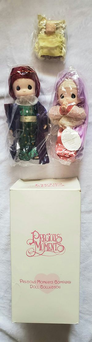 PRECIOUS MOMENTS CHRISTMAS NATIVITY DOLL SET for Sale in Las Vegas, NV