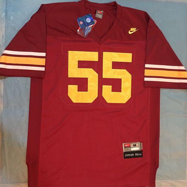 big sale 6b9a1 1ba87 USC Trojans #55 Jr. Seau Jerseys Sizes M/L for Sale in Chula Vista, CA -  OfferUp