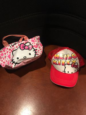 Hello Kitty Hat and Handbag for Sale in Arnold, MO
