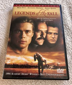 Classic Legends of the Fall DVD for Sale in Dutton, MI